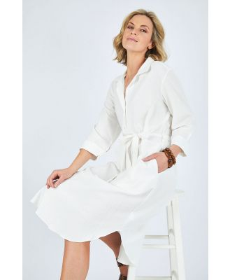 The Midi Shirt Dress