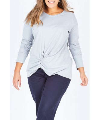 The Twist Front Top