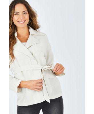 Sea Ya Linen Blend Jacket