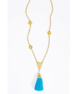 Amira Tassel Necklace