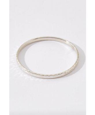 Martillado Sterling Silver Bracelet