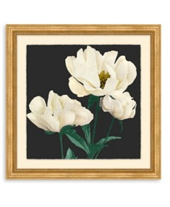 Bloomingdale's Artisan Collection Floral On Charcoal Wall Art - 100% Exclusive