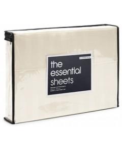 Bloomingdale's Essentials Organic Dobby Stripe Sheet Set, Full - 100% Exclusive