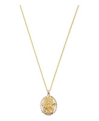 Bloomingdale's Hamsa Pendant Necklace in 14K Yellow Gold, 20 - 100% Exclusive