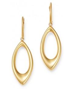Bloomingdale's Open Tear Drop Earrings in 14K Yellow Gold - 100% Exclusive