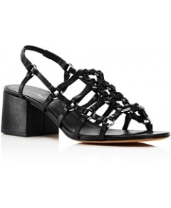 3.1 Phillip Lim Women's Cube Strappy Caged Sandals
