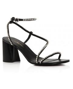 3.1 Phillip Lim Women's Drum Crystal Embellished Strappy Sandals