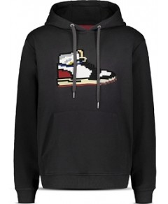 8-Bit by Mostly Heard Rarely Seen Sneaker Graphic Hoodie