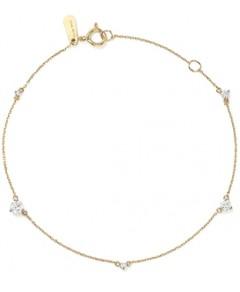 Adina Reyter 14K Yellow Gold Amigos Five Diamond Station Bracelet