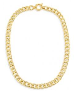 Adinas Jewels Miami Curb Chain Necklace, 14.5
