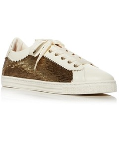 Agl Women's Sade Sequined Sneakers