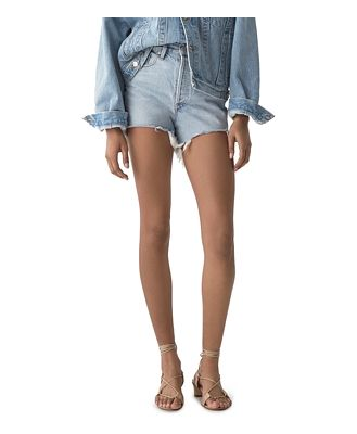 Agolde Dee Ultra High-Rise Denim Shorts in Digit
