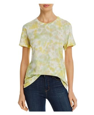 Agolde Mariam Tie-Dyed Tee