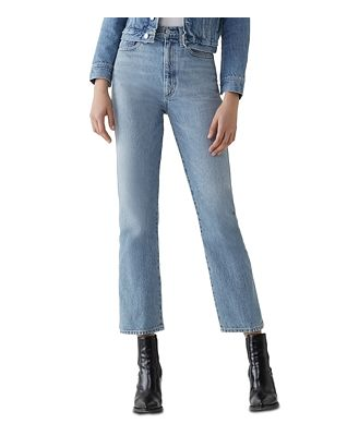 Agolde Pinch-Waist Kick Flare Jeans in Impression