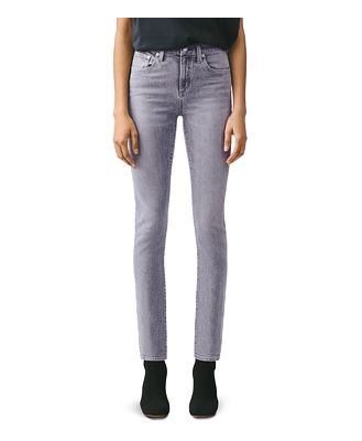 Agolde Toni High-Rise Straight Jeans in Mirror