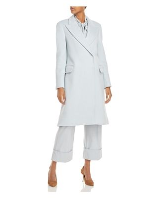 Alberta Ferretti Long Trench Coat