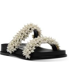 Alexandre Birman Women's Constanza Faux Pearl Sandals