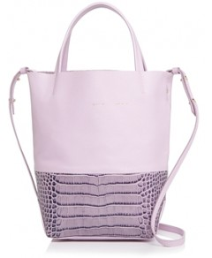 Alice.d Small Embossed Leather Tote