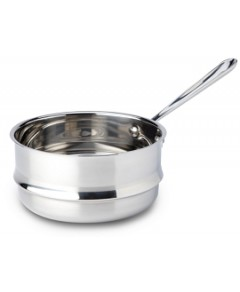 All Clad Stainless Steel 3 Quart Universal Double Boiler Insert