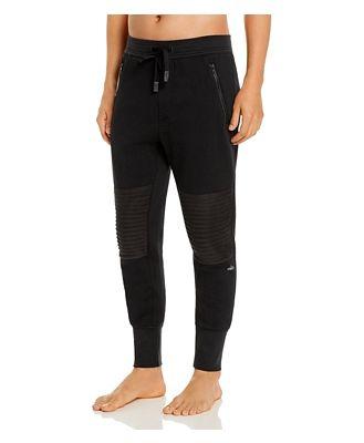 Alo Yoga Lounge Moto Jogger Pants