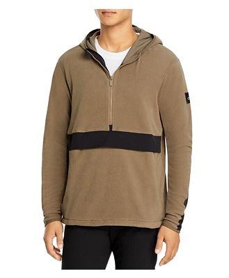Alo Yoga Polar Fleece Half-Zip Hooded Pullover