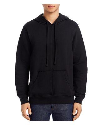 Alo Yoga Raw-Edge Hooded Sweatshirt