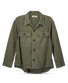 Amo Button-Front Jacket
