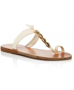 Ancient Greek Sandals Women's Iris Shells Thong Sandals