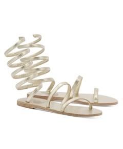 Ancient Greek Sandals Women's Ofis Spiral Strap Sandals