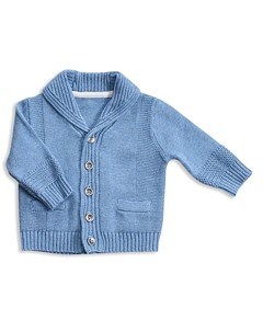 Angel Dear Boys' Shawl Collar Cardigan - Baby