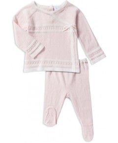Angel Dear Girls' Shirt & Footie Pants Take Me Home Set - Baby
