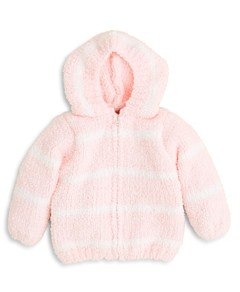 Angel Dear Girls' Striped Hooded Jacket - Baby
