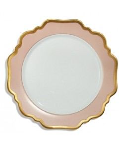 Anna Weatherley Anna's Palette Dusty Rose Dinner Plate