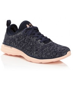 Apl Athletic Propulsion Labs Women's Phantom TechLoom Knit Lace Up Sneakers