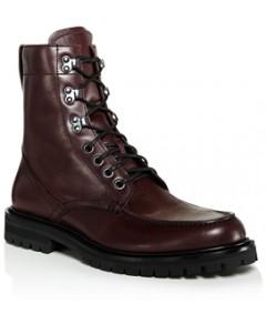 Aquatalia Men's Ira Weatherproof Lace Up Boots