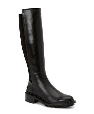 Aquatalia Women's Omara Weatherproof Stretch Leather Tall Boots