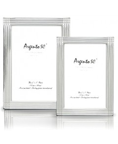 Argento Axis Sterling Silver Frame, 4 x 6