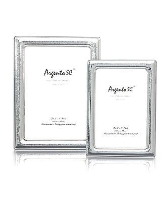 Argento Hammered Frame, 5 x 7