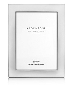 Argento Sc Castell Sterling Silver 8 x 10 Picture Frame
