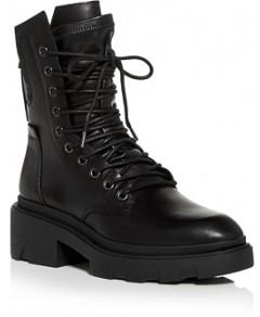 Ash Women's Madness Block Heel Combat Boots
