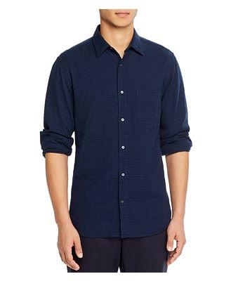 Aspesi Regular Fit Seersucker Shirt