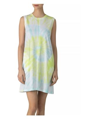 Atm Anthony Thomas Melillo Cotton Tie-Dyed Tank Dress