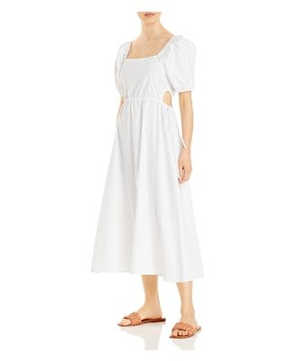 Ava & Esme Poplin Side Tied Cut-Out Dress (61% off) - Comparable value $128