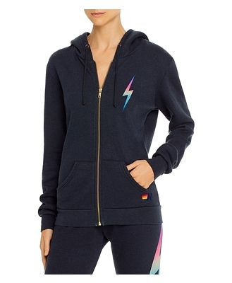 Aviator Nation Double Bolt Graphic Hoodie