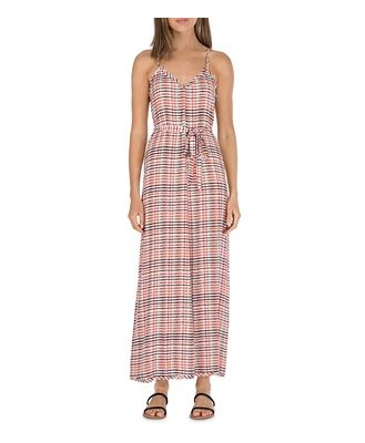 B Collection by Bobeau Printed Belted Dress
