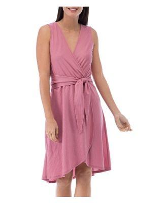 B Collection by Bobeau Rowan Faux-Wrap Dress