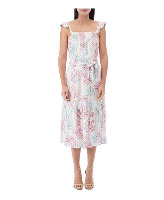 B Collection by Bobeau Wanda Ruffled-Strap Maxi Dress