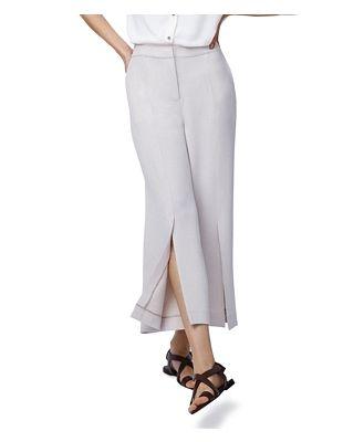 b new york Cropped Wide-Leg Pants