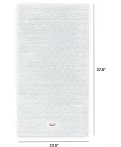 Babyletto Pure Core Mini Crib Mattress with Hybrid Waterproof Cover