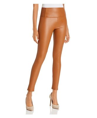 Bagatelle. nyc High-Rise Faux Leather Leggings